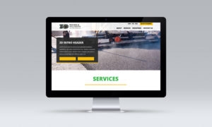 Construction Website Design South Florida Mockups