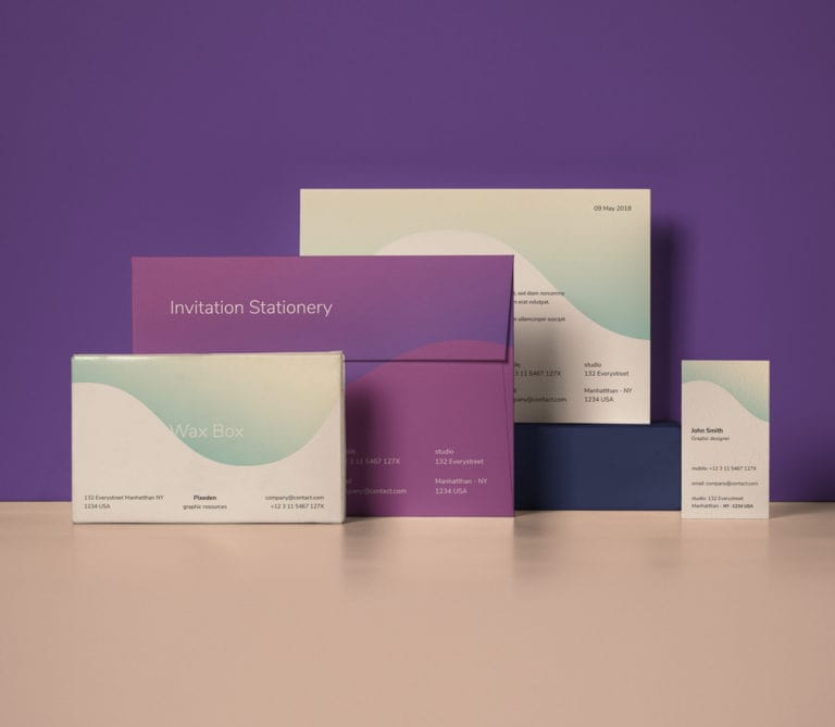 Branding on marketing collateral