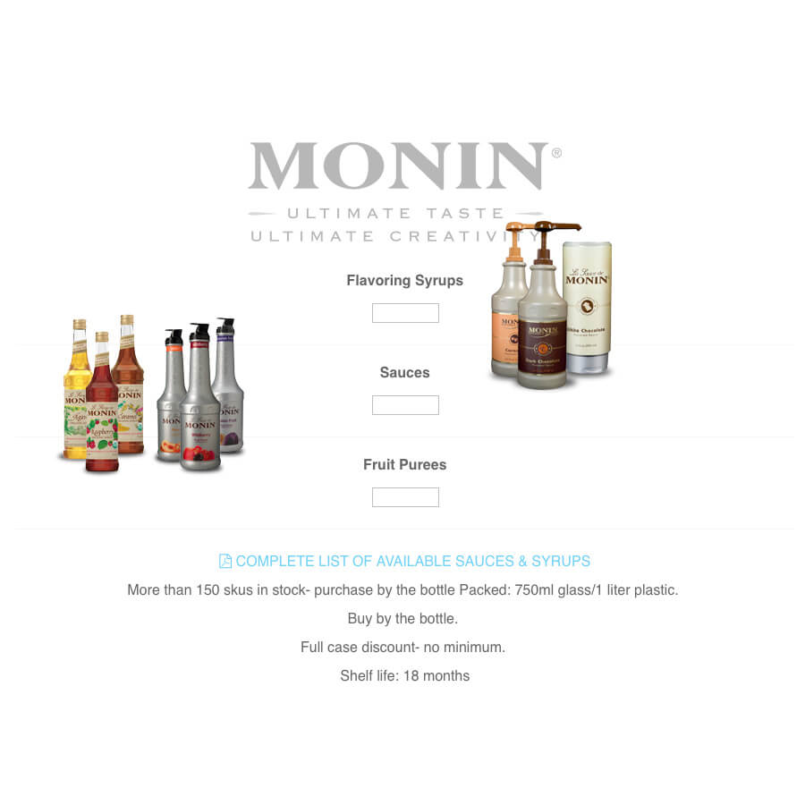 Tropical Drinks eCommerce Website Design