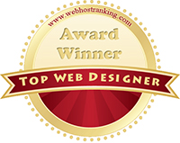 Top Web Designer winner for Florid logo
